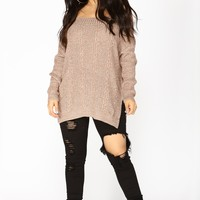 Raquel Off Shoulder Sweater - Coco