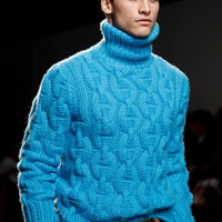 On  SALE   Men's Sweater   Hand Knit With Cable pattern  from Best Peruvian Wool Yarn  Made to order