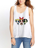 Powerpuff Girls Womens Tank Top *