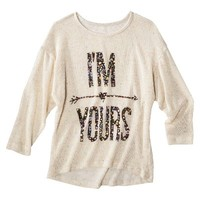 Juniors I'm Yours Graphic Sweater