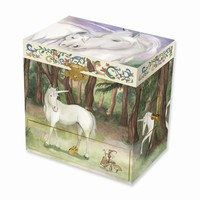 Child's Unicorn Musical Jewelry Box