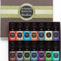 14/ 10 ml Synergy Blends 100% Pure & Natural Aromatherapy Therapeutic Grade Essential Oils- (Aphrodisiac, Calming, Purification, Meditation, Four Thieves, Joy, Hope, Love, Harmony, Peace, Cleaning, Relaxation, Stay Alert and Stress Relief)