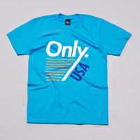 Only NY Trainer T Shirt Teal