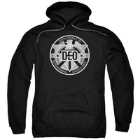 Supergirl TV Show DEO Mens/Youth Pullover Hoodie