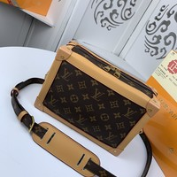 Kuyou Gb22991 Louis Vuitton Lv M44478 Two-tone Monogram Other Show Ss19 All Collections Soft Trunk 25x18x10cm