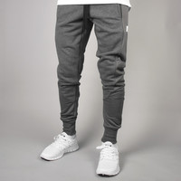 King Apparel - Perf Tapered Track Bottoms - Charcoal