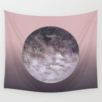 Quaoar gradient Wall Tapestry by Julia Hariri