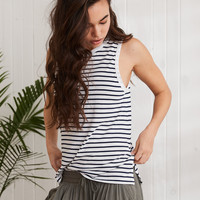 Aerie Muscle Tank, Navy