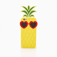 Large 3D Pineapple iPhone 6 Case | Wet Seal