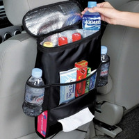 Hot Car Covers Seat Organizer Insulated Food Storage Container Basket Stowing Tidying Bags car styling keep warm&cool pocket