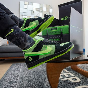 """Nike SB Dunk """"Stay Home"""" sneakers skateboard shoes"""