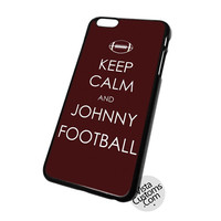 Keep Calm And Johnny Football Cell Phones Cases For Iphone, Ipad, Ipod, Samsung Galaxy, Note, Htc, Blackberry