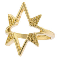 Shooting Star Knuckle Ring