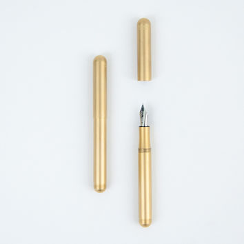 Kaweco Liliput Brass Fountain Pen