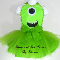 Child Size Mike Wazowski Costume Apron
