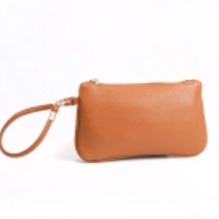 Forever In Style Wristlet- Cognac