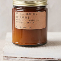 P.F. Candle Co. Campfire 7.5oz Soy Candle - Urban Outfitters