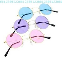 John Lennon Colored Sunglasses?colors Vary