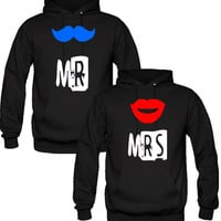 mr mrs couple Hoodies