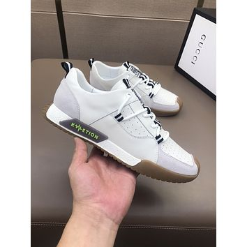 Gucci2021 Men Fashion Boots fashionable Casual leather Breathable Sneakers Running Shoes06170gh