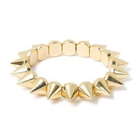 All Spikes Stretch Bracelet  | Claire's