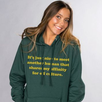 Affinity For Elf Culture Hoodie