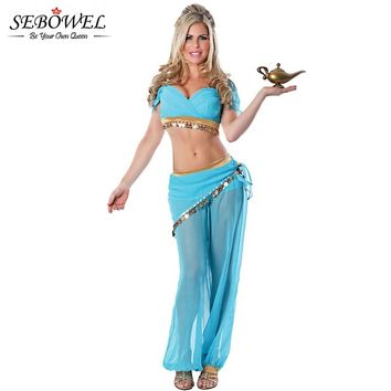 """Harem Costume with Opening lid Sultan 9/"""" Genie Lamp"""