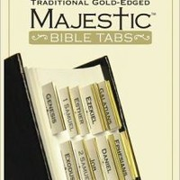 Traditional Gold Bible Tabs