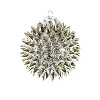Metallic Spiked Ornament