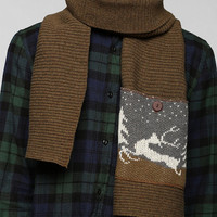 Ohio Knitting Mills Deer Pocket Scarf - Urban Outfitters