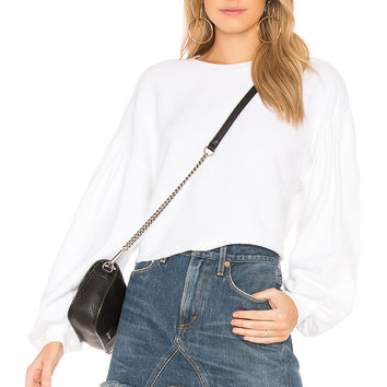 Free People Sleeves Like These Pullover in White