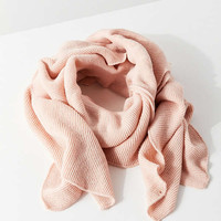 Knit Ruffle Scarf | Urban Outfitters