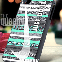 Nike aztec mint (2) - iPhone 4/4s/5 Case - Samsung Galaxy S3/S4 Case - Blackberry Z10 Case - Black or White