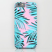 Palm tree iPhone & iPod Case by Hanna Kastl-Lungberg