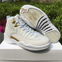 Best Deal Online Nike Air Jordan Retro 12 OVO  White