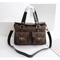 lv newest popular women leather handbag tote crossbody shoulder bag satchel 106