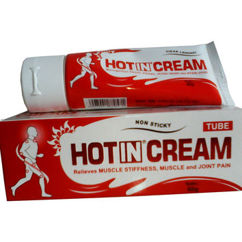 Hot In Cream Pain Relief Aromatheraphy Muscle Joint Stiffness 60g