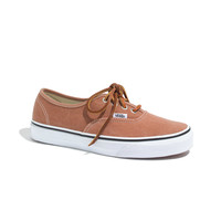 Vans® Authentic Brushed Twill Sneakers