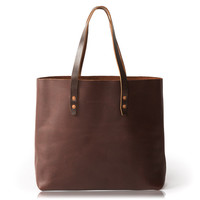Vintage Tote Bag - Brown