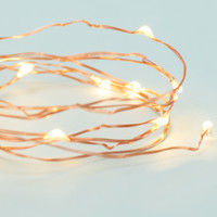 Extra Long Vintage Yellow String Lights