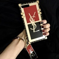 YSL Case for iPhone 7 8 XS MAX XR