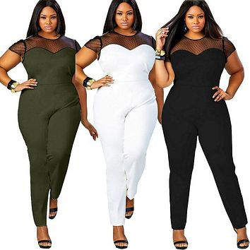 Casual Office Summer Women's Jumpsuit