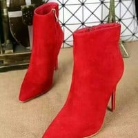 DCCK2 RED Christian Louboutin 10cm High-heeled