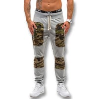 2016 New Men Camouflage Pencil Pants Trousers Men's Casual Fashion Slim Fit Long Harem Pants Joggers Sweatpants Trousers Pants