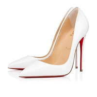 {SC} Christian Louboutin 2021 New pointed high heels  120 mm