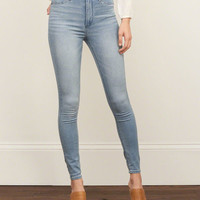 High Rise Jean Leggings