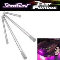 StreetGlow 75-FF100 Fast and Furious Pink Under Car Neon Light Kit