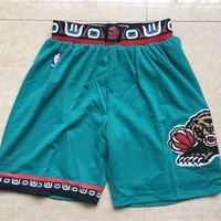 Memphis Grizzlies Throwback Game Style Shorts