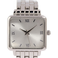 Classic Square-Faced Watch