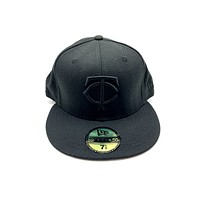 New Era 59FIFTY Minesota Twins Blackout Fitted Hat